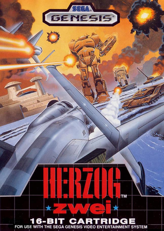 Herzog Zwei (Megadrive  US & EUR)