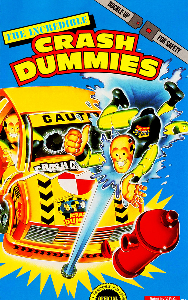 Incredible Crash Dummies (Amiga & Megadrive & GG & Nes & Snes & MS ALL)