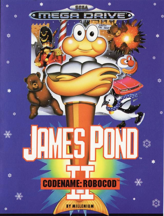 James Pond 2 (Megadrive & GG US & EUR)