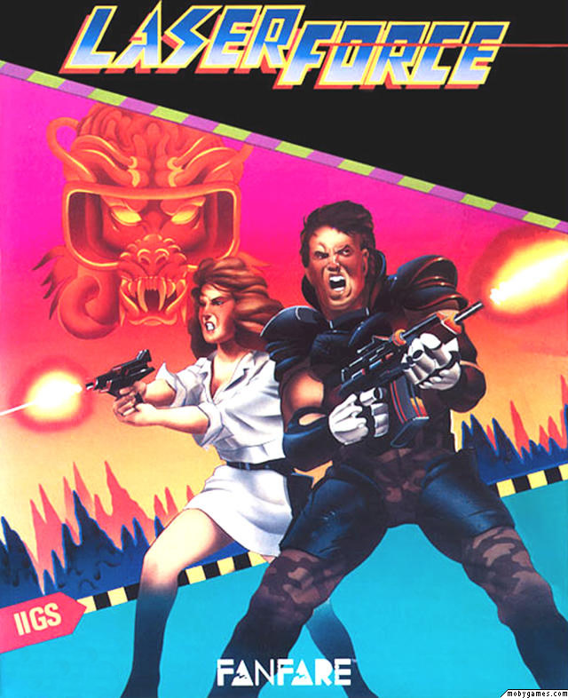 Laser Force (Apple II US)