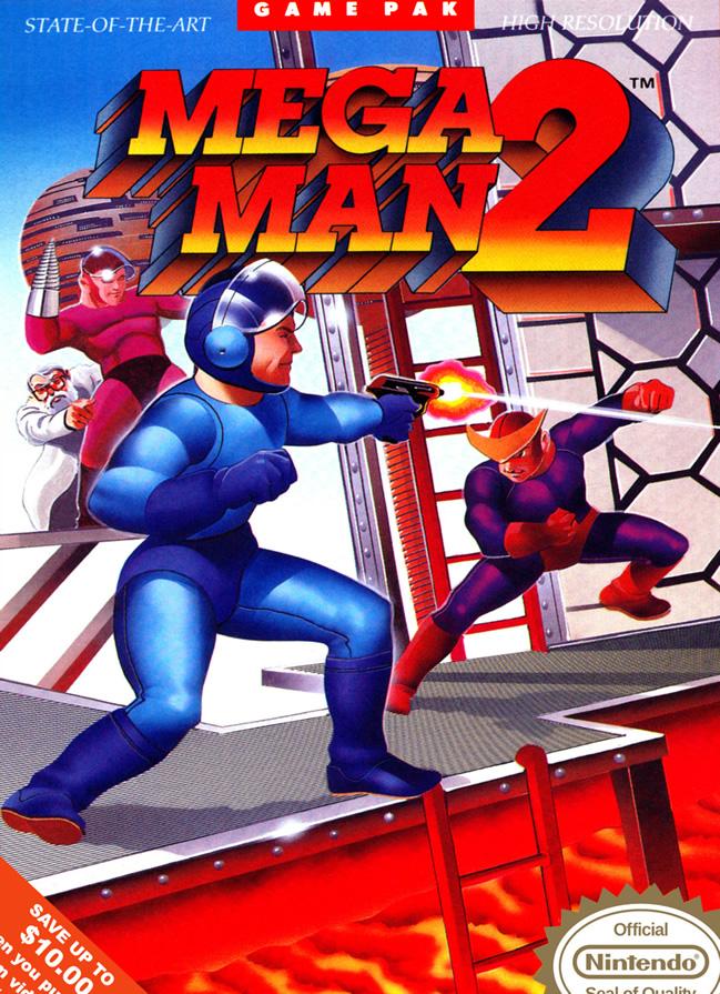 Megaman 2 (Nes US)