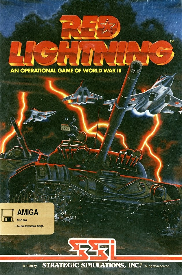 Red Lightning (Amiga & Atari ST & PC US)