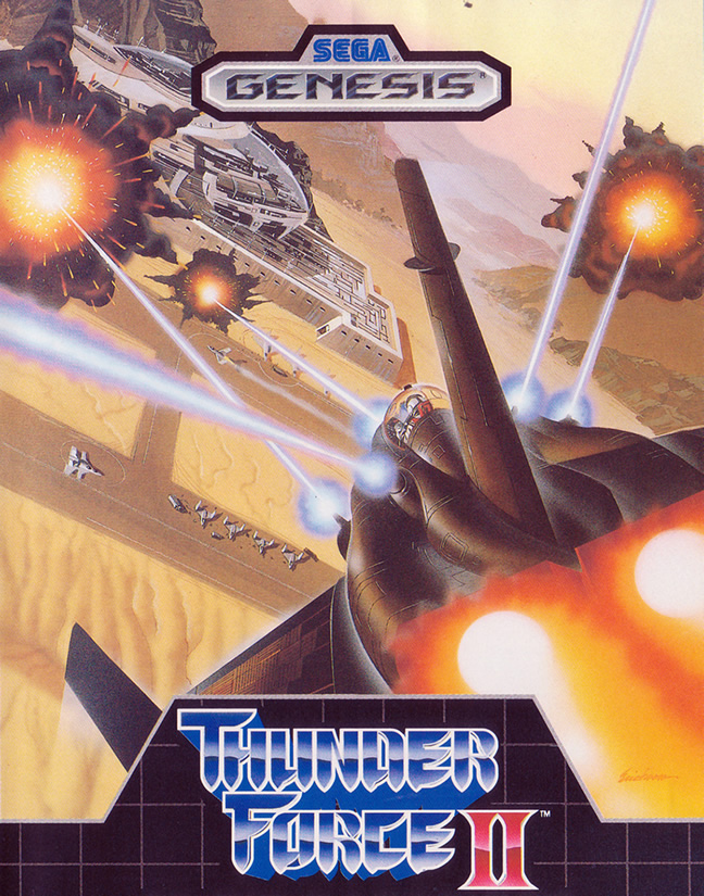 Thunder Force II (Megadrive US & EUR)
