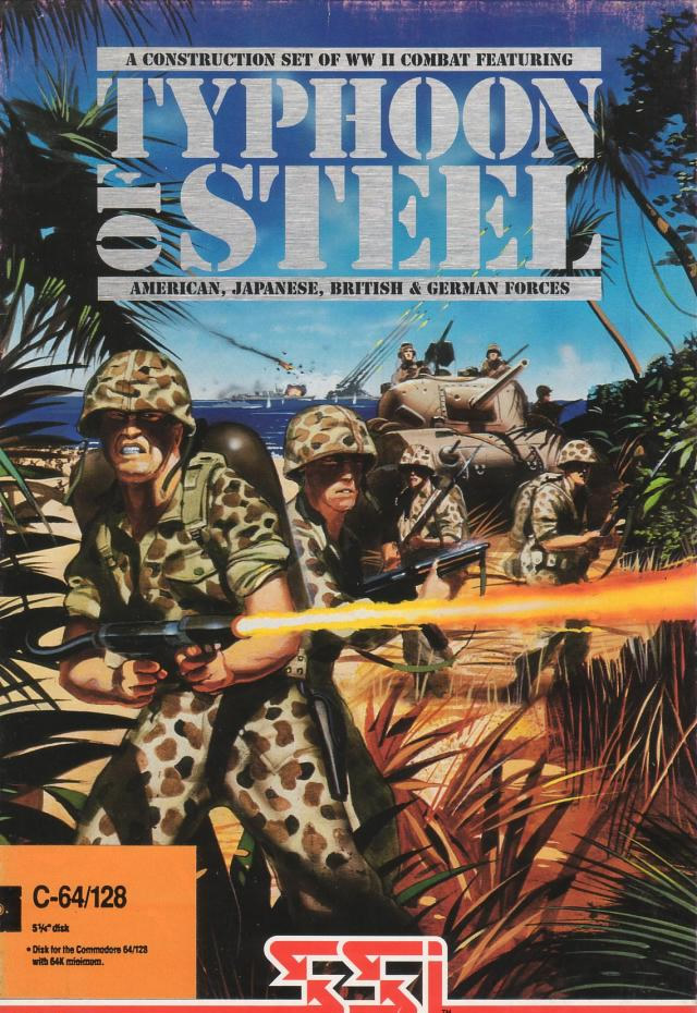 Typhoon of Steel (Amiga US)