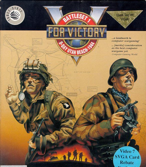 V for Victory Battleset 1 - D-Day Utah Beach - 1944 (PC US)
