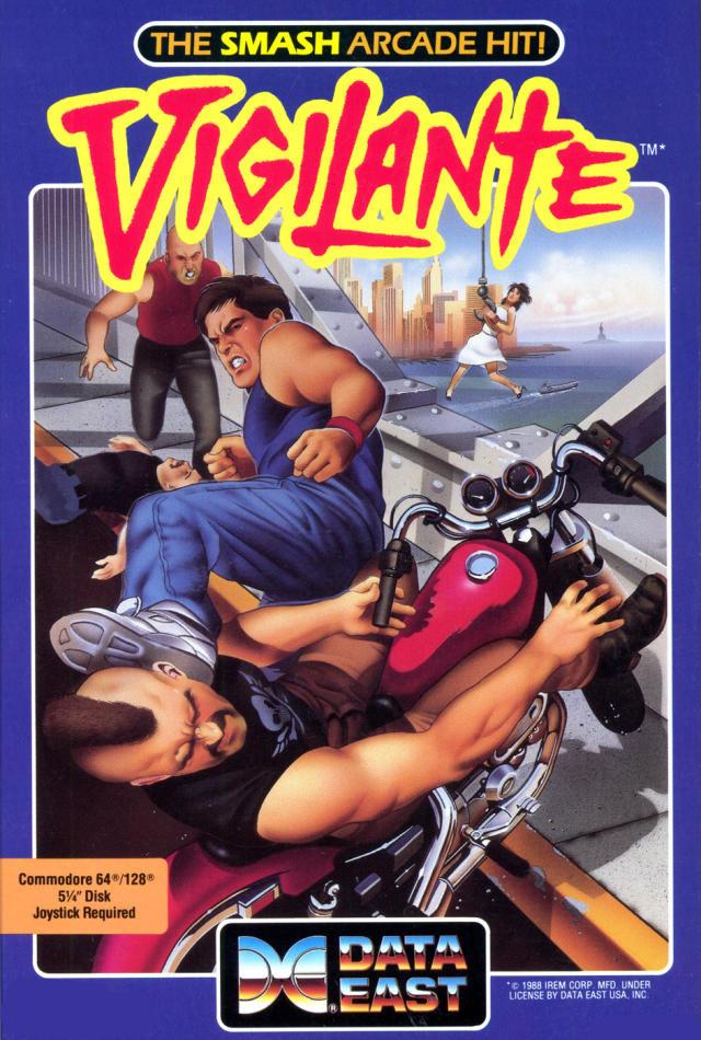 Vigilante (C64 US)