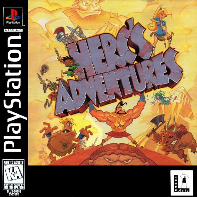 Herc's Adventures (PS1, Saturn ALL)
