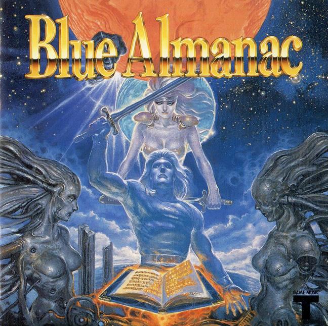 Blue Almanac (Megadrive Jap)