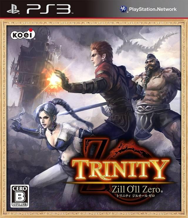 Trinity Souls of Zill O'll (PS3 ALL)