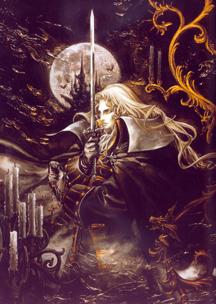 Castlevania Symphony of the Night (PS1 JP & EUR)
