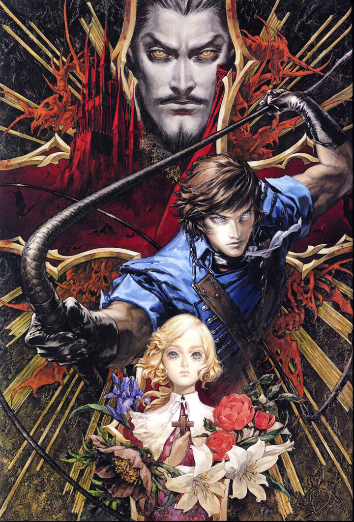 Castlevania Dracula X Chronicles (PSP ALL)